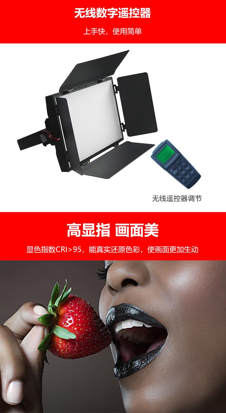 泰阳人 TYR-LED2100 数字遥控led平板柔光灯(图8)
