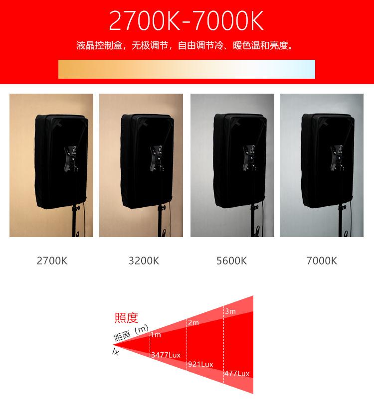 泰阳人 TYT-LED600SD 1*2 软布灯(图7)