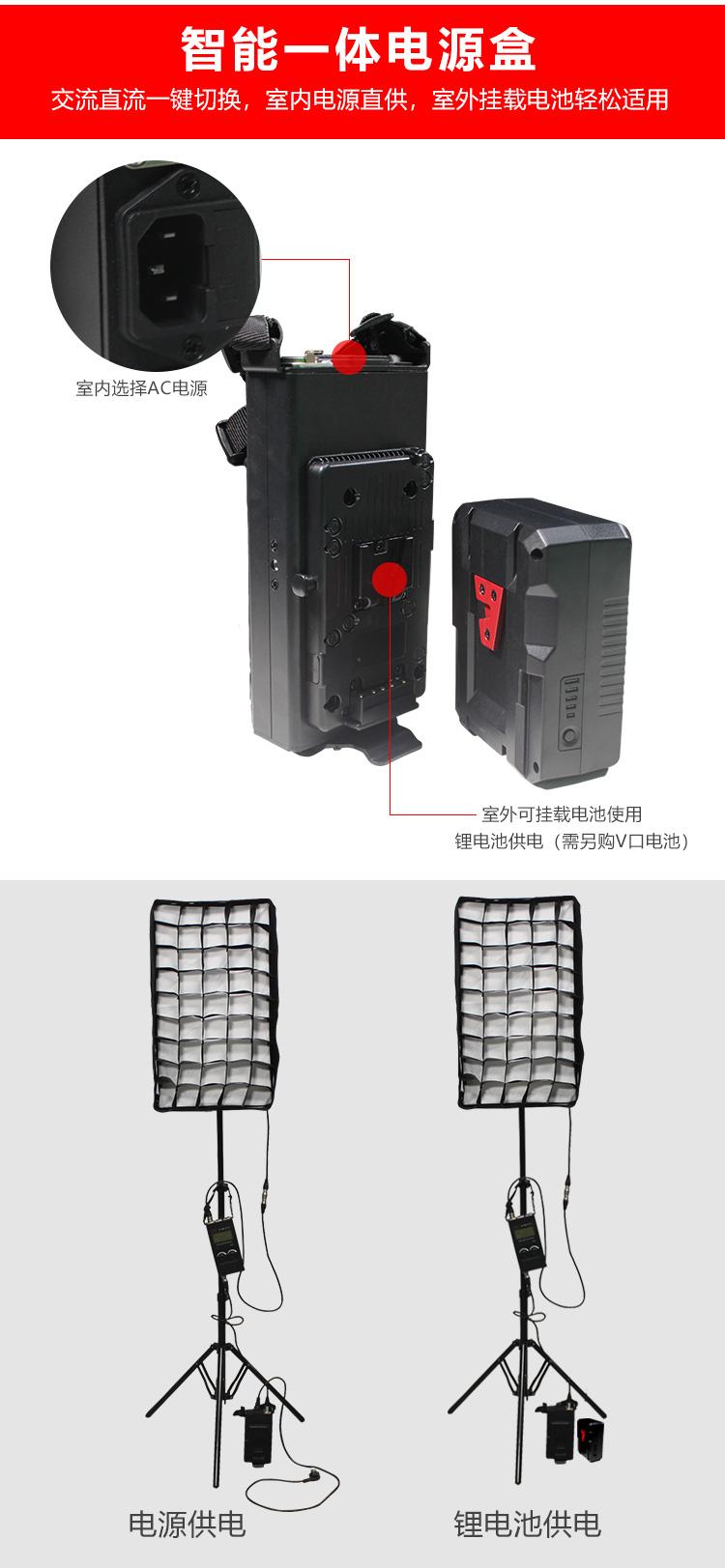 泰阳人 TYT-LED600SD 1*2 软布灯(图5)