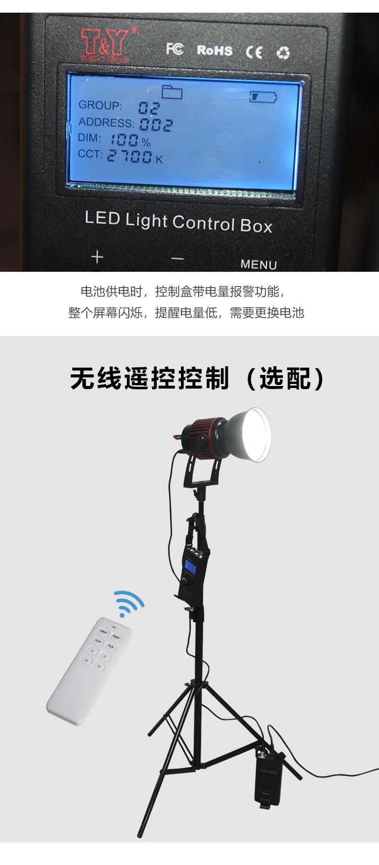 泰阳人 TYR-LED6100PA 保荣口聚光灯(图8)