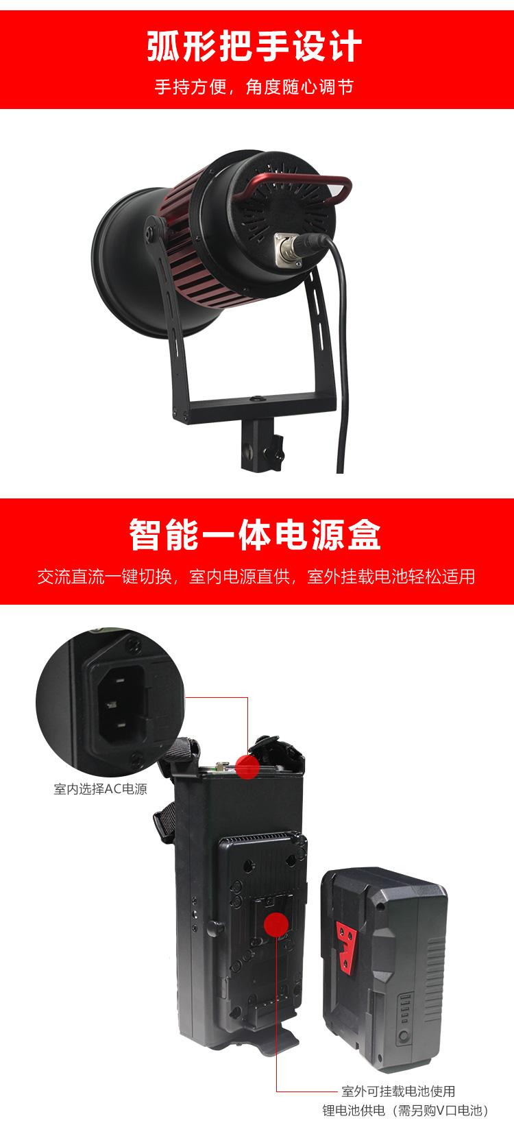 泰阳人 TYR-LED6100PA 保荣口聚光灯(图6)
