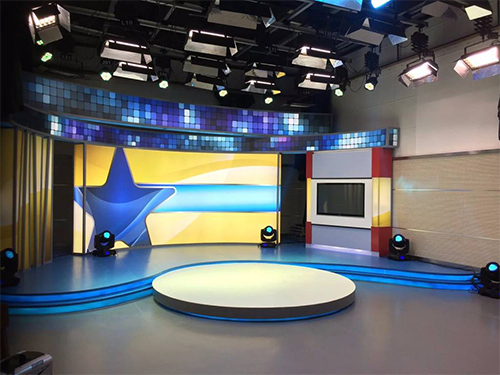 100平米小型演播室如何设计?(图1)