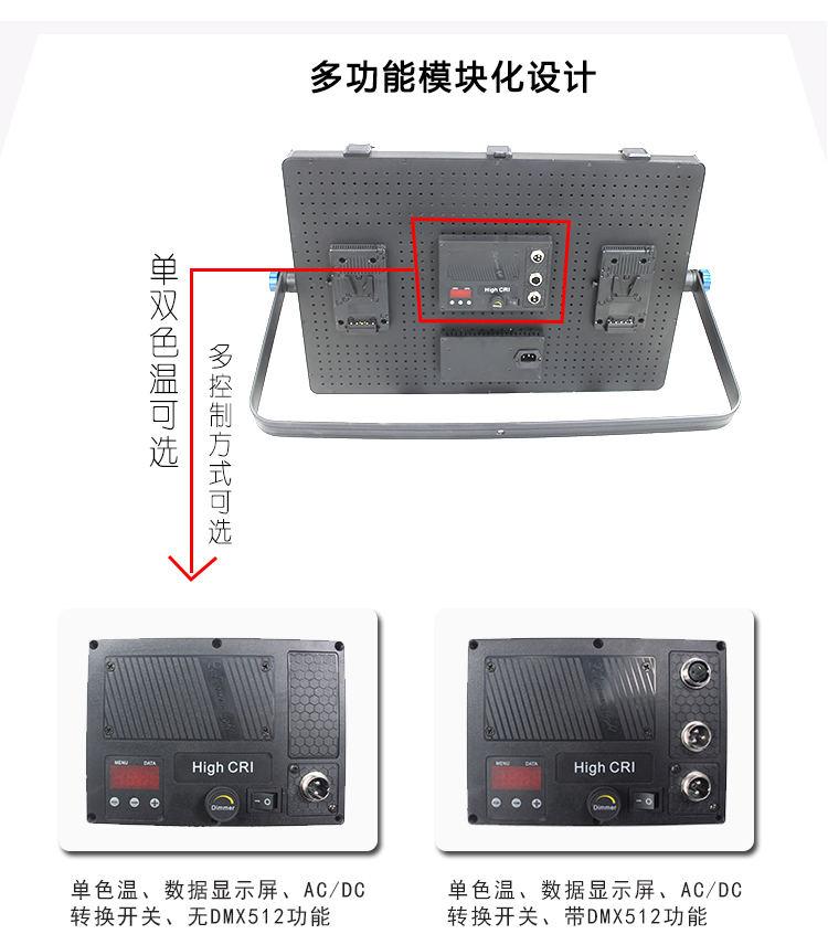 泰阳无线数字遥控TY-LED1800平板柔光灯(图16)