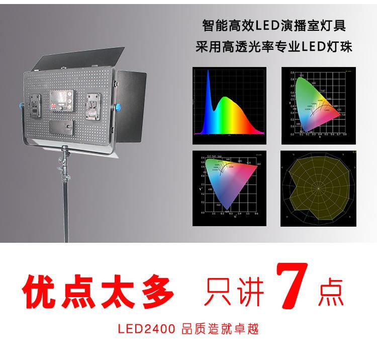 泰阳无线数字遥控TY-LED2400平板柔光灯(图5)
