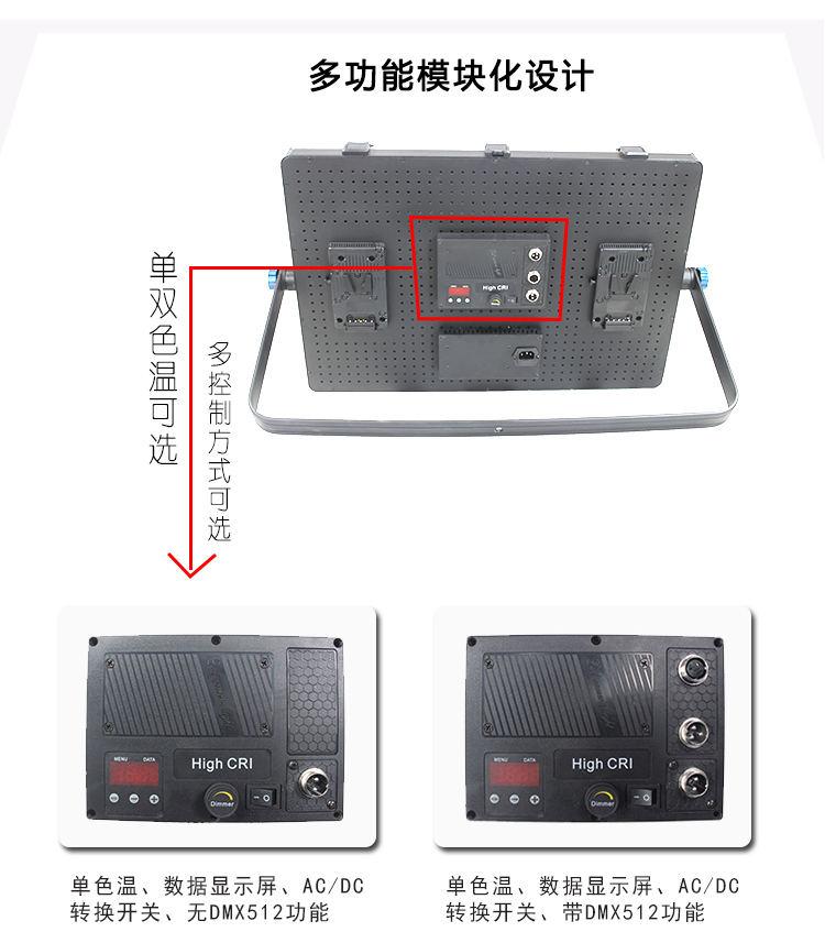 泰阳无线数字遥控TY-LED2400平板柔光灯(图15)