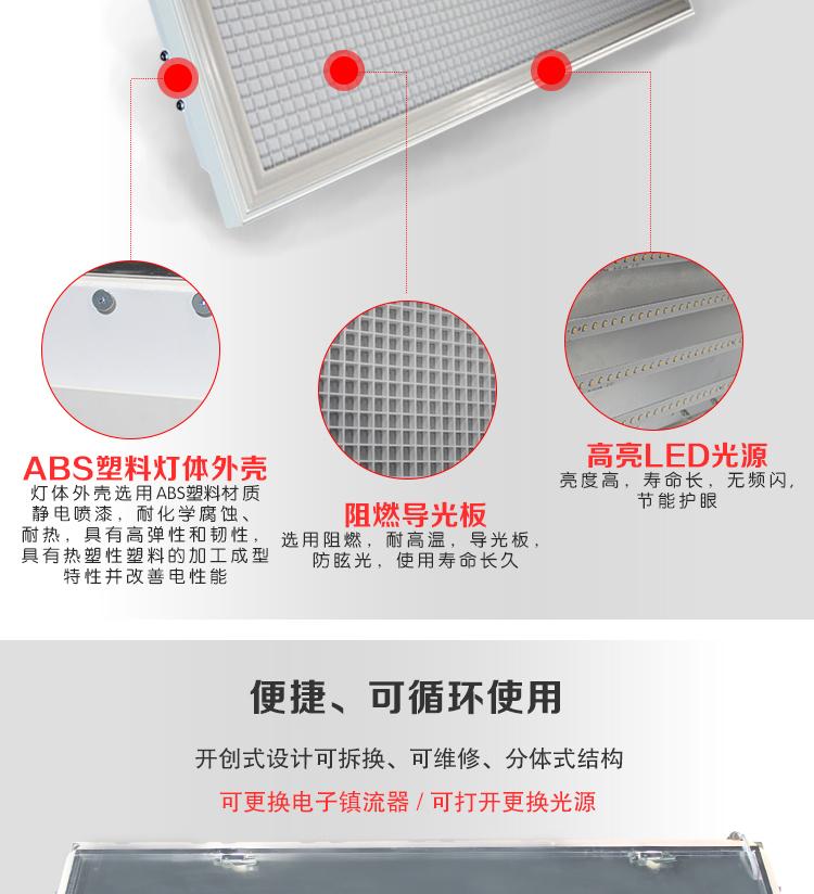 泰阳人防眩光格栅教室护眼灯(图3)