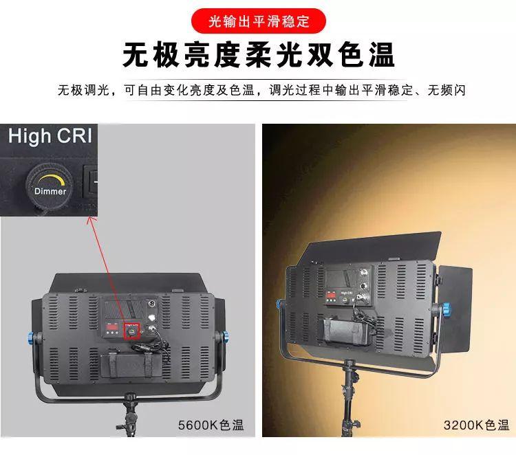泰阳无线数字遥控TY-LED1200平板柔光灯(图3)